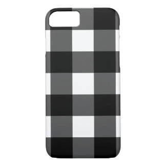 白黒バッファローの点検の電話箱 iPhone 8/7ケース