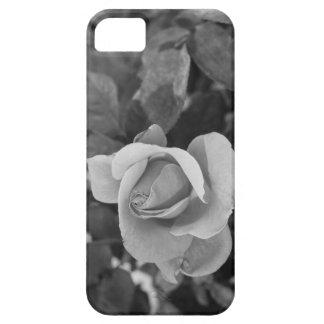 白黒バラ iPhone SE/5/5s ケース