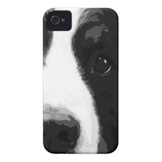 白黒バーニーズ・マウンテン・ドッグ Case-Mate iPhone 4 ケース