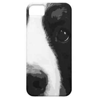白黒バーニーズ・マウンテン・ドッグ iPhone SE/5/5s ケース
