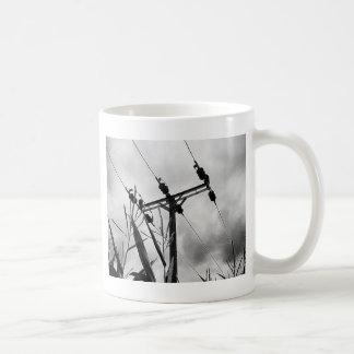 白黒パイロン コーヒーマグカップ