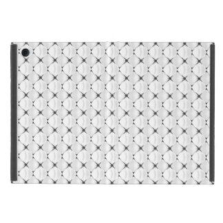 白黒パターンミズキの花 iPad MINI ケース