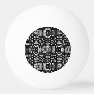 白黒パターン 卓球ボール
