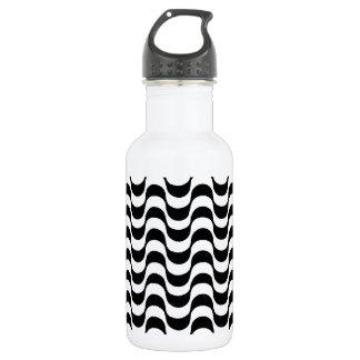 白黒パターン、copacabana ウォーターボトル