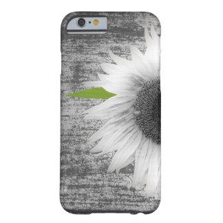 白黒ヒマワリ BARELY THERE iPhone 6 ケース