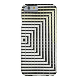 白黒ピクセル電話箱 BARELY THERE iPhone 6 ケース