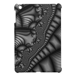 白黒フラクタルの芸術 iPad MINIケース