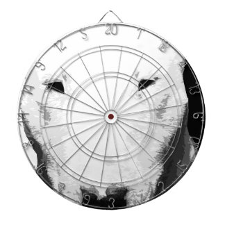 白黒ブルテリア ダーツボード