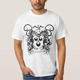 白黒ブードゥーの芸術 Tシャツ