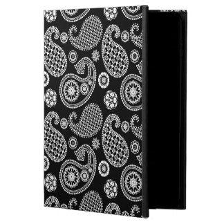 白黒ペイズリーパターン POWIS iPad AIR 2 ケース