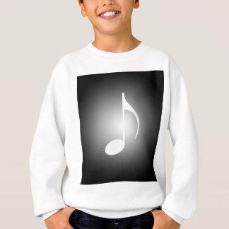 白黒ミュージシャン スウェットシャツ