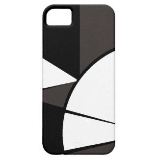 白黒モダン iPhone SE/5/5s ケース