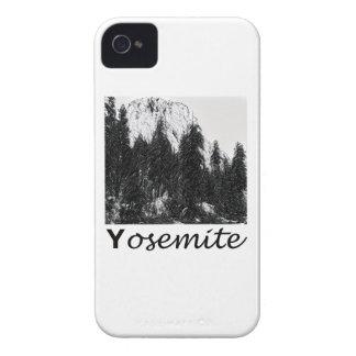 白黒ヨセミテ第1 Case-Mate iPhone 4 ケース