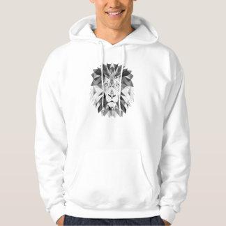 白黒ライオン パーカ
