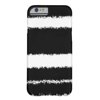 白黒ライン BARELY THERE iPhone 6 ケース