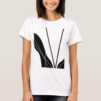 白黒ライン Tシャツ