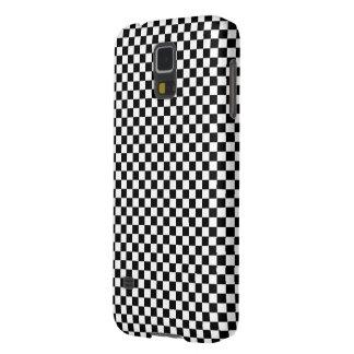 白黒レジ係の正方形の錯覚 GALAXY S5 ケース