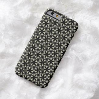 白黒レースの花柄のiPhone6ケース Barely There iPhone 6 ケース