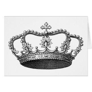 白黒ヴィンテージの王冠 カード