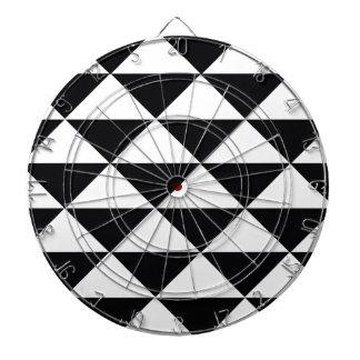 白黒三角形 ダーツボード