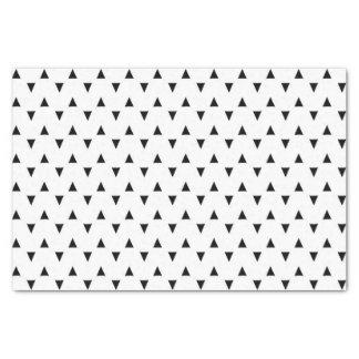 白黒三角形 薄葉紙
