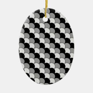 白黒付属の設計 セラミックオーナメント