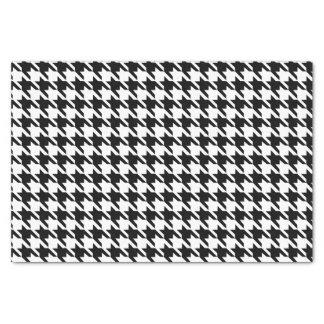 白黒千鳥格子のなパターン 薄葉紙