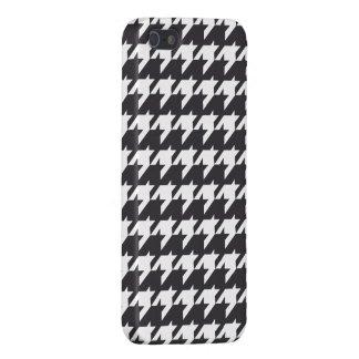 白黒千鳥格子の iPhone 5 COVER