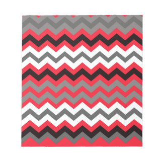 白黒口紅の赤 ノートパッド