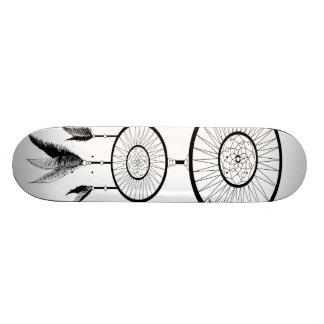 白黒夢のキャッチャー スケートボード