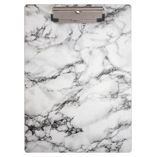 白黒大理石パターン クリップボード