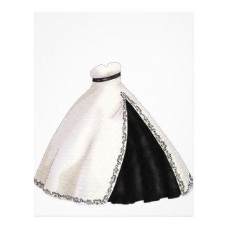 白黒婚礼衣裳 レターヘッド