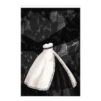 白黒婚礼衣裳 便箋