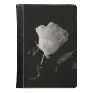 白黒孤独なばら色の箱 iPad AIRケース
