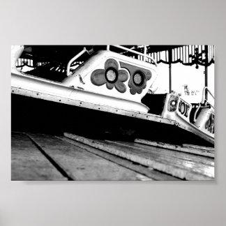 白黒市 ポスター