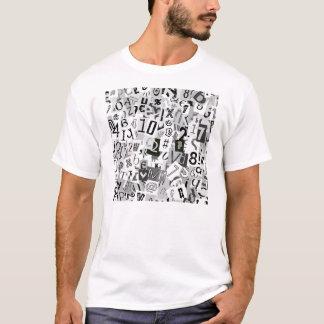 白黒手紙 Tシャツ