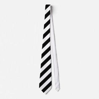 白黒斜めの縞 オリジナルネクタイ