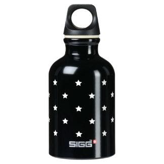白黒星パターン ウォーターボトル