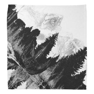 白黒森林 バンダナ