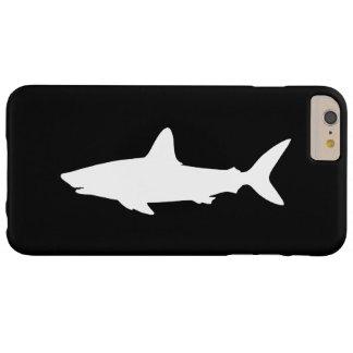 白黒水泳の鮫 BARELY THERE iPhone 6 PLUS ケース