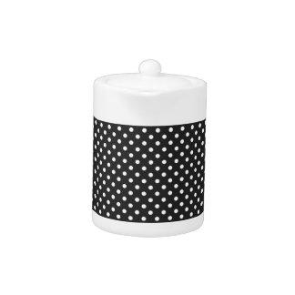 白黒水玉模様パターン