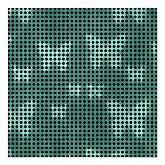 白黒水玉模様パターン カード