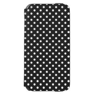 白黒水玉模様パターン INCIPIO WATSON™ iPhone 6 ウォレットケース