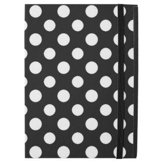 """白黒水玉模様パターンiPadのプロ場合 iPad Pro 12.9"""" ケース"""