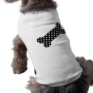 白黒水玉模様 ペット服