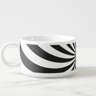 白黒渦巻パターン チリボウル