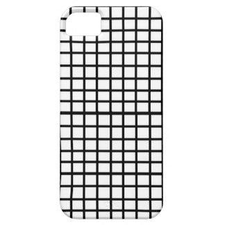白黒点検によって印刷される箱 iPhone SE/5/5s ケース