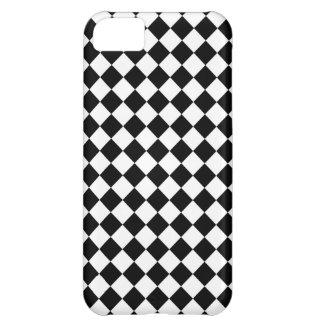 白黒点検パターン iPhone5Cケース