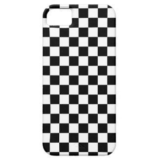 白黒点検パターン iPhone SE/5/5s ケース