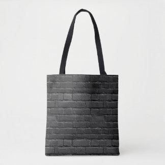 白黒煉瓦バッグ トートバッグ